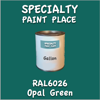 RAL 6026 Opal Green Gallon Can