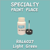 RAL 6027 Light Green 2oz Bottle with Brush