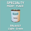 RAL 6027 Light Green Gallon Can