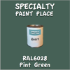 RAL 6028 Pine Green Quart Can