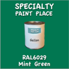 RAL 6029 Mint Green Gallon Can
