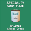 RAL 6032 Signal Green Gallon Can