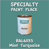 RAL 6033 Mint Turquoise Gallon Can