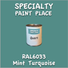 RAL 6033 Mint Turquoise Quart Can