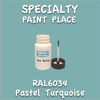 RAL 6034 Pastel Turquoise 2oz Bottle with Brush
