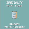 RAL 6034 Pastel Turquoise Pint Can