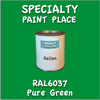 RAL 6037 Pure Green Gallon Can