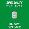 RAL 6037 Pure Green Pint Can