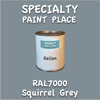 RAL 7000 Squirrel Grey Gallon Can