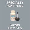 RAL 7001 Silver Grey 2oz Bottle with Brush