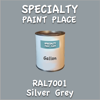 RAL 7001 Silver Grey Gallon Can