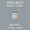 RAL 7001 Silver Grey Pint Can