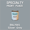 RAL 7001 Silver Grey Quart Can