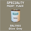 RAL 7002 Olive Grey Gallon Can