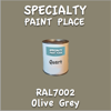 RAL 7002 Olive Grey Quart Can