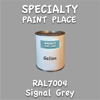 RAL 7004 Signal Grey Gallon Can