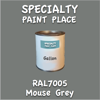 RAL 7005 Mouse Grey Gallon Can