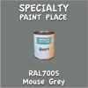 RAL 7005 Mouse Grey Quart Can