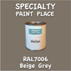 RAL 7006 Beige Grey Gallon Can
