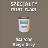 RAL 7006 Beige Grey Quart Can