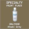 RAL 7008 Khaki Grey 16oz Aerosol Can