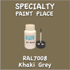 RAL 7008 Khaki Grey 2oz Bottle with Brush