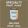 RAL 7008 Khaki Grey Gallon Can