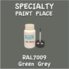 RAL 7009 Green Grey 2oz Bottle with Brush