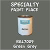 RAL 7009 Green Grey Gallon Can