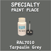 RAL 7010 Tarpaulin Grey 2oz Bottle with Brush
