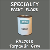RAL 7010 Tarpaulin Grey Gallon Can
