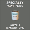 RAL 7010 Tarpaulin Grey Quart Can