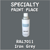 RAL 7011 Iron Grey 16oz Aerosol Can