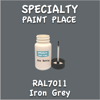 RAL 7011 Iron Grey 2oz Bottle with Brush