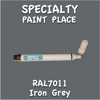 RAL 7011 Iron Grey Pen