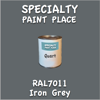 RAL 7011 Iron Grey Quart Can