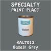 RAL 7012 Basalt Grey Gallon Can