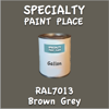 RAL 7013 Brown Grey Gallon Can
