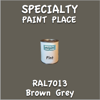 RAL 7013 Brown Grey Pint Can