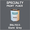 RAL 7015 Slate Grey Gallon Can