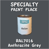 RAL 7016 Anthracite Grey Gallon Can