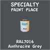 RAL 7016 Anthracite Grey Pint Can