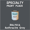 RAL 7016 Anthracite Grey Quart Can