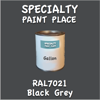 RAL 7021 Black Grey Gallon Can