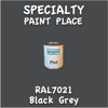 RAL 7021 Black Grey Pint Can