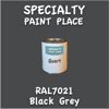 RAL 7021 Black Grey Quart Can