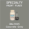 RAL 7023 Concrete Grey 2oz Bottle with Brush