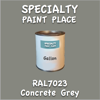 RAL 7023 Concrete Grey Gallon Can