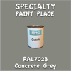 RAL 7023 Concrete Grey Quart Can
