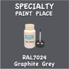 RAL 7024 Graphite 2oz Bottle with Brush
